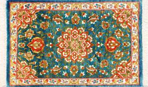 サイズ44×26cm<br> silk100%<br> メダリオン<br> クム産63,000円(税込)