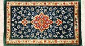 サイズ40×23cm<br> silk100%<br> メダリオン<br> クム産78,000円(税込)