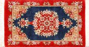 サイズ45×27cm<br> silk100%<br> メダリオン<br> クム産98,000円(税込)