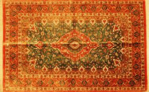 サイズ120×77cm<br> silk100%<br> メダリオン<br> クム産<br> エスハーギィ工房398,000円(税込)