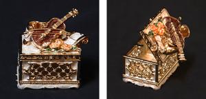 バイオリンケース サイズ高さ5×幅6cm 5,250円