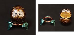 フクロウ(台付き) サイズ高さ5×幅4cm 5,250円