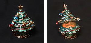 """クリスマスツリー サイズ高さ6.5×幅5cm 6,500円 <span class=""""sold"""">SOLD OUT</span>"""