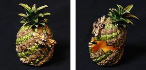 パインとハチ サイズ高さ7×幅5cm 7,500円