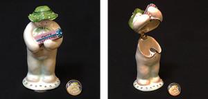 メリークリスマス スノーマン(バッジ付き) サイズ高さ9.5×幅4cm 16,800円
