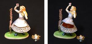 不思議の国のアリス(ペンダント付き) サイズ高さ9×幅6cm 21,000円