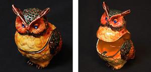 フクロウ サイズ高さ7.5×幅5cm 7,500円
