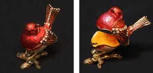 ロビン(コマドリ) サイズ高さ6×幅5cm 7,500円