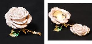バラ サイズ高さ4.5×幅7cm 3,980円