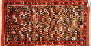 サイズ80×42cm<br> wool&silk<br> ヘシティー<br> ビンテージ1965年製<br> ワラミン工房125,000円(税込)