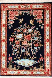 サイズ81×58cm silk100% タペストリー ゴーハリ工房228,000円(税込)