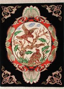 サイズ75×56cm silk100% イーグル(鷲) ゴーハリ工房165,000円(税込)