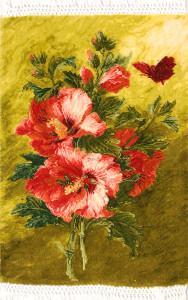 サイズ50×34cm wool&silk タブリーズ産 185,000円(税込)