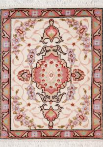 サイズ43×33cm<br> wool&silk タブリーズ産<br>  32,000円(税込)