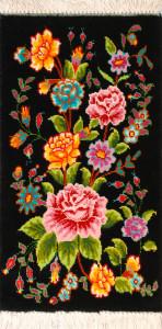 サイズ45×25cm<br> wool&silk  タブリーズ産<br>68,000円(税込)