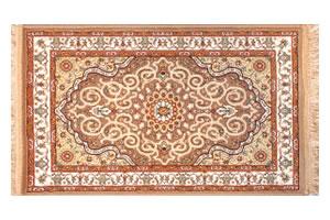 機械織りペルシア絨毯