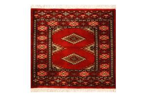 ウール100% 草木染めのペルシア絨毯