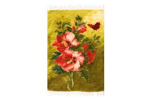 絵画のようなペルシア絨毯~タブリーズ産 ウール&シルク製
